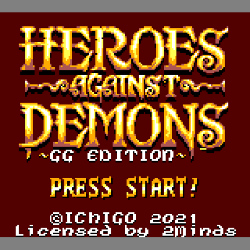 Heroes against Demons - Game Gear Edition