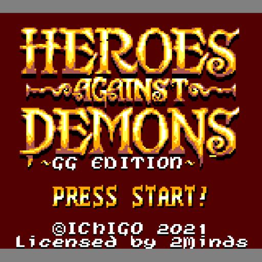 Heros Against Demons - Game Gear