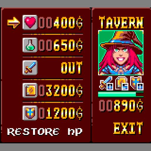 Heros Against Demons - Game Gear - Tavern