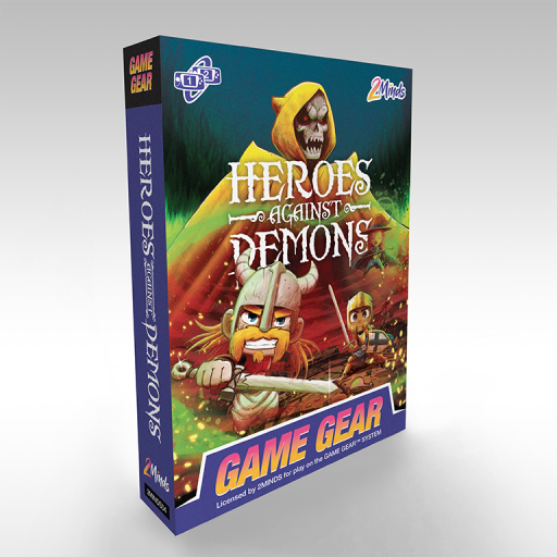 Heros Against Demons - Game Gear - Boite de jeu face