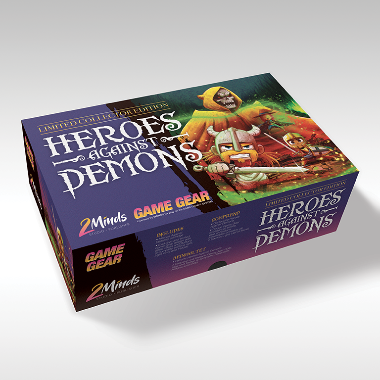Heros Against Demons - Game Gear - Limited Edition
