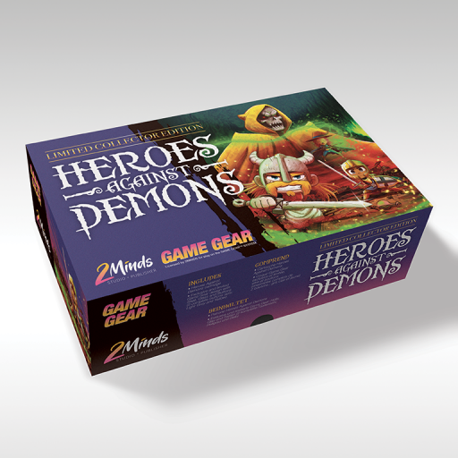 Heros Against Demons - Game Gear - Edition Limitée