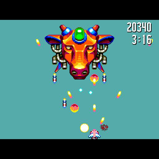 Flight of Pigarus - Boss