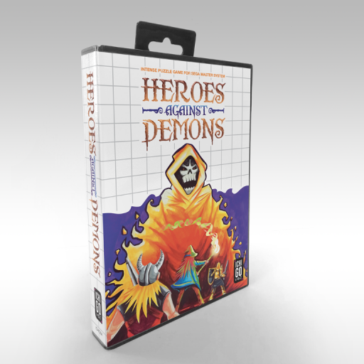 Heroes against Demons - Box front