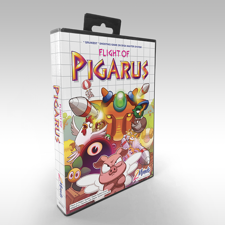 Flight of Pigarus - Box front (alt2)
