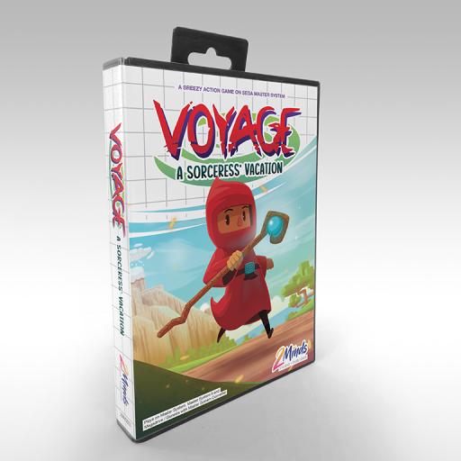 Voyage - A Sorceress' vacation - Box front