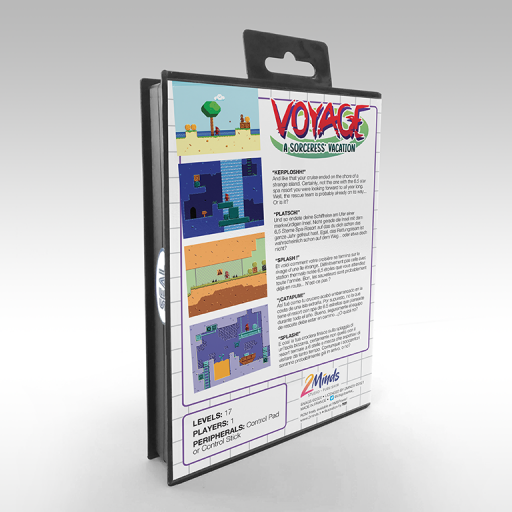 Voyage - A Sorceress' vacation - Box back